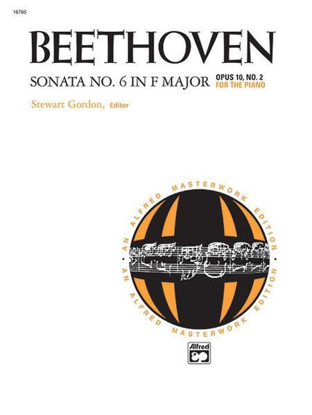 Sonata No. 6 in F Major, Opus 10, No. 2