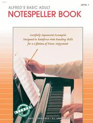 Alfred's Basic Adult Piano Course Notespeller, Book 1