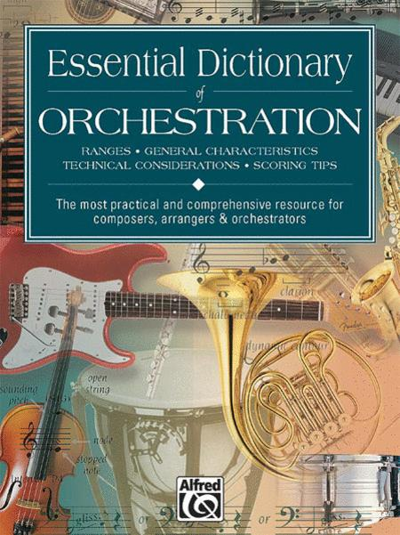 Essential Dictionary of Orchestration