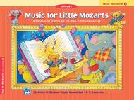 Music for Little Mozarts Music Workbook, Book 1
