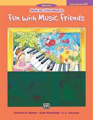 Music for Little Mozarts Coloring Book, Book 1