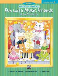 Music for Little Mozarts Coloring Book, Book 2