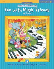 Music for Little Mozarts Coloring Book, Book 3