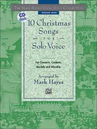Mark Hayes Vocal Solo Collection: 10 Christmas Songs for Solo Voice- Medium High (Book/CD)