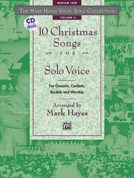 Mark Hayes Vocal Solo Collection: 10 Christmas Songs for Solo Voice - Medium Low (Book/CD)