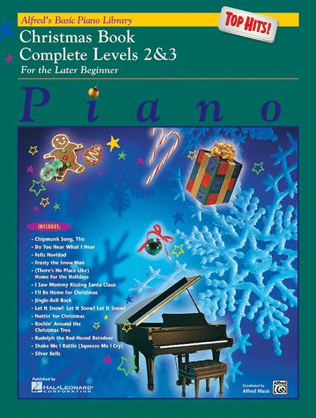 Alfred's Basic Piano Library Top Hits! Christmas Complete