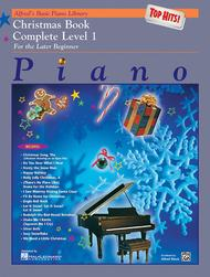 Alfred's Basic Piano Course - Top Hits! Christmas Book - Complete Level 1 (1A/1B)