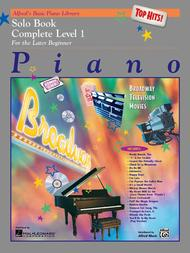 Alfred's Basic Piano Course - Top Hits! Solo Book - Complete Level 1 (1A/1B)
