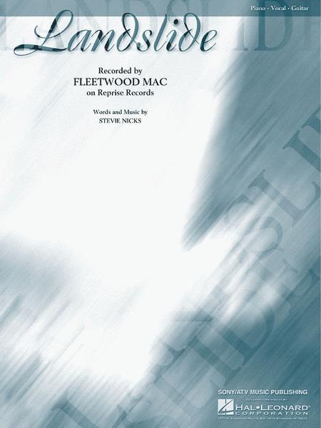 Landslide Sheet Music By Fleetwood Mac Sheet Music Plus