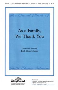 As a Family, We Thank You