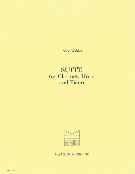 Suite for Clarinet, Horn and Piano