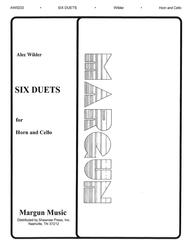 Six Duets For Horn And Cello