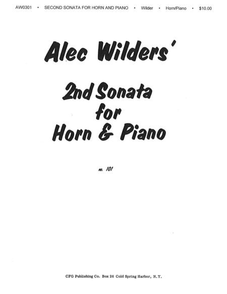 Sonata No. 2 for Horn and Piano