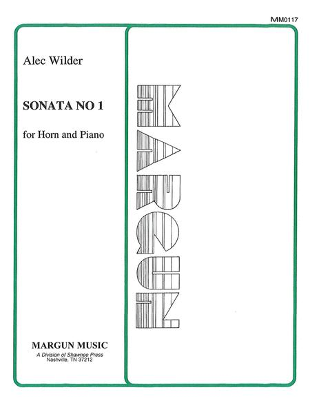 Sonata No. 1 for Horn and Piano