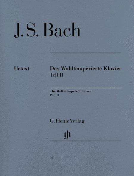 The Well-Tempered Clavier - Book II, BWV 870-893