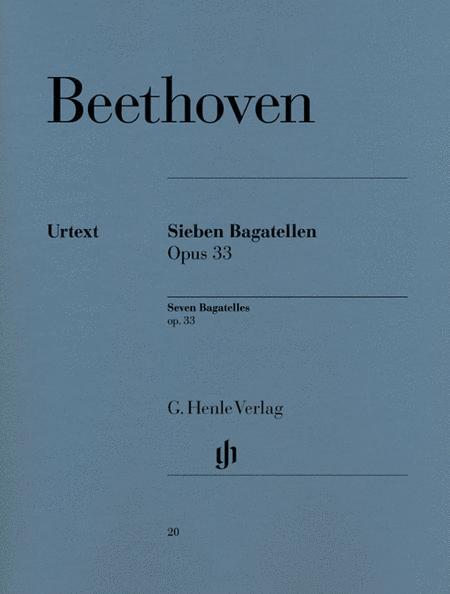 7 Bagatelles Op. 33