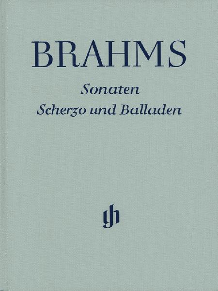 Sonatas, Scherzo and Ballades
