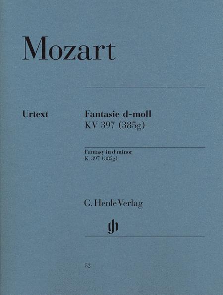 Fantasy D minor KV 397 (385g)