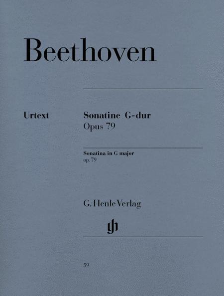 Piano Sonata (Sonatina) No. 25 in G Major Op. 79