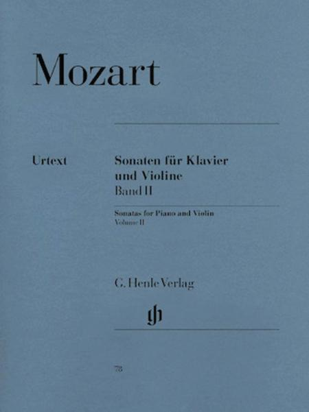 Sonatas for Piano and Violin, Volume II