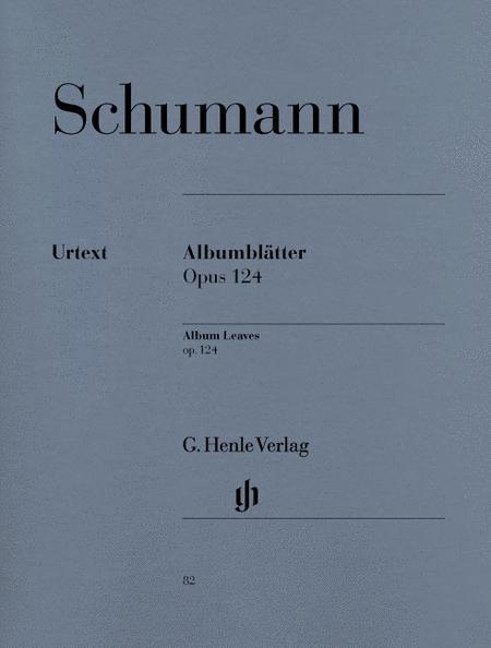 Albumblatter, Op. 124