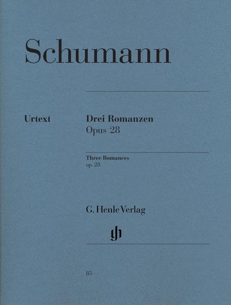 3 Romances Op. 28