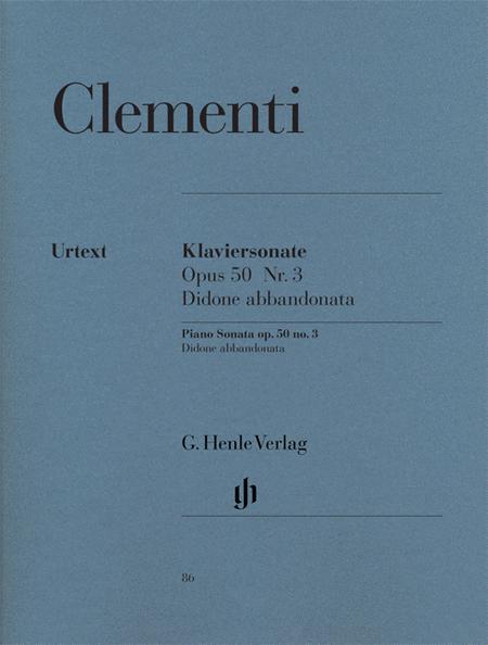 Piano Sonata Didone Abbandonata, Scena Tragica in G minor Op. 50, No. 3