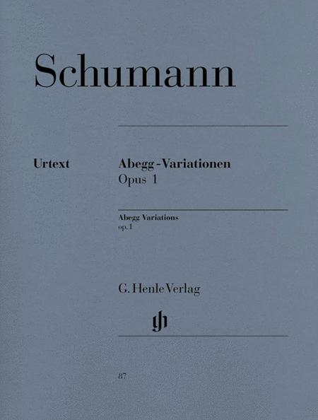 Abegg Variations F Major Op. 1