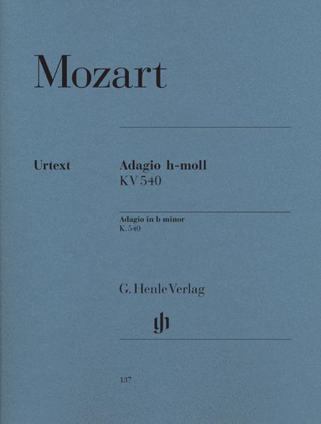 Adagio b minor KV 540