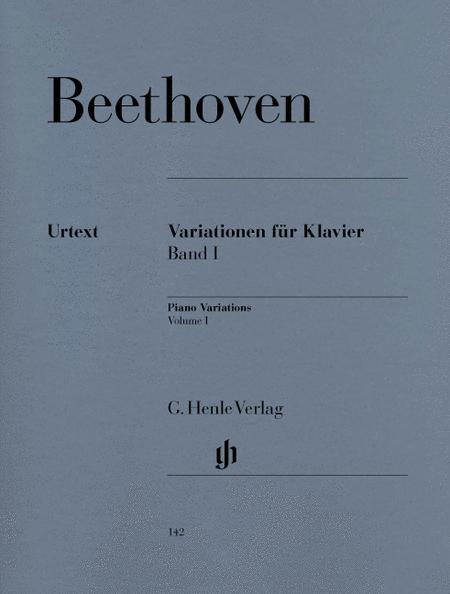 Variations for Piano, Volume I