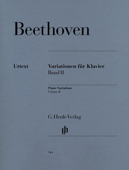 Variations for Piano, Volume II