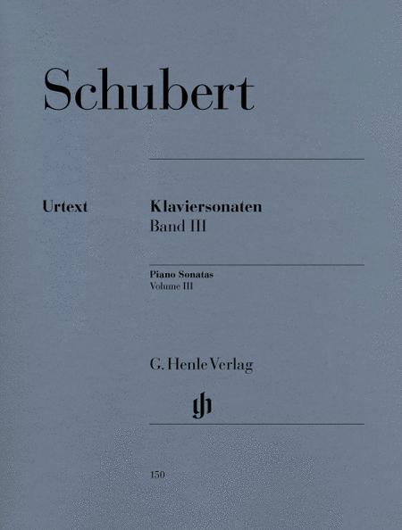 Piano Sonatas - Volume III (Early and Unfinished Sonatas)