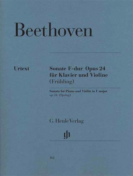 Sonata for Piano and Violin F major op. 24 (Spring sonata)
