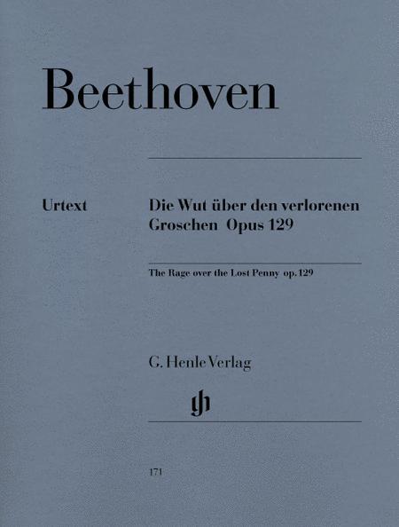 Alla Ingharese Quasi Un Capriccio G Major Op. 129 [The Rage Over the Lost Penny]
