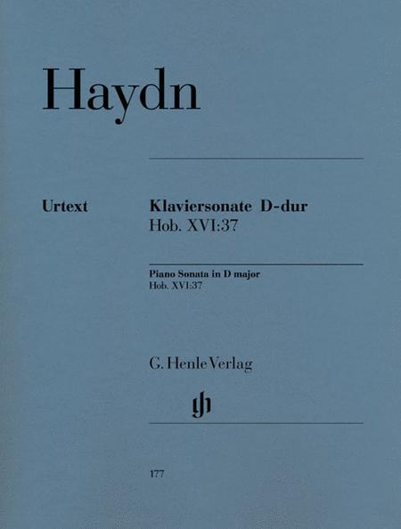 Piano Sonata D major Hob. XVI:37