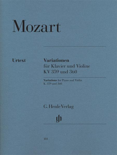 Variations for Piano and Violin