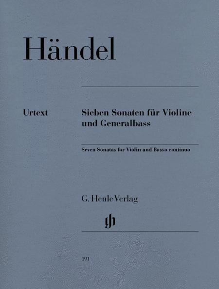 7 Sonatas for Violine and Basso Continuo