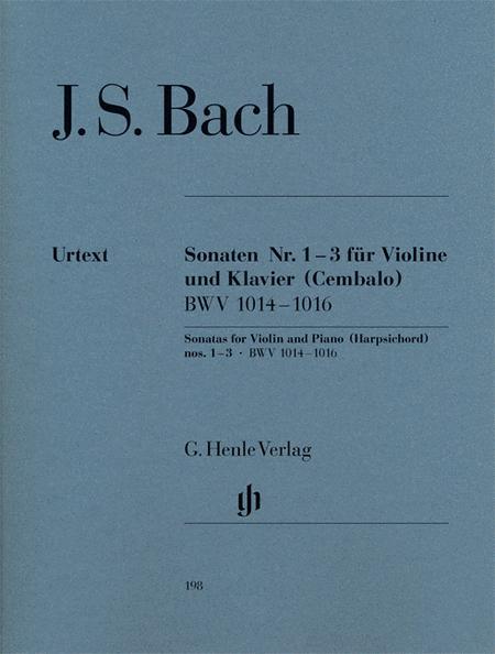 Sonatas for Violin and Piano (Harpsichord) 1-3 BWV 1014-1016