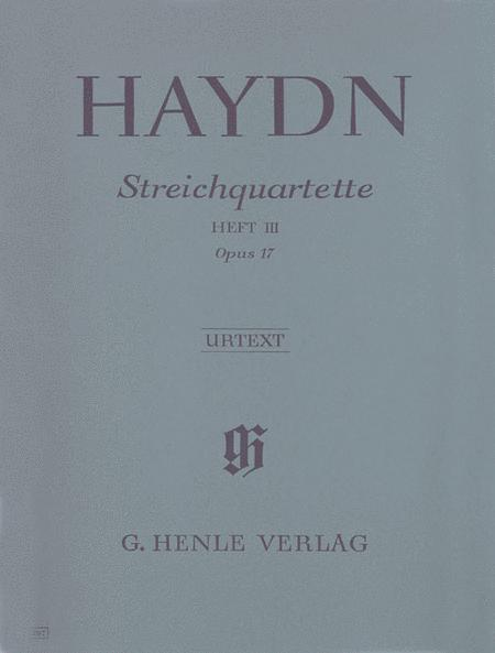 String Quartets op. 17 Vol. 3