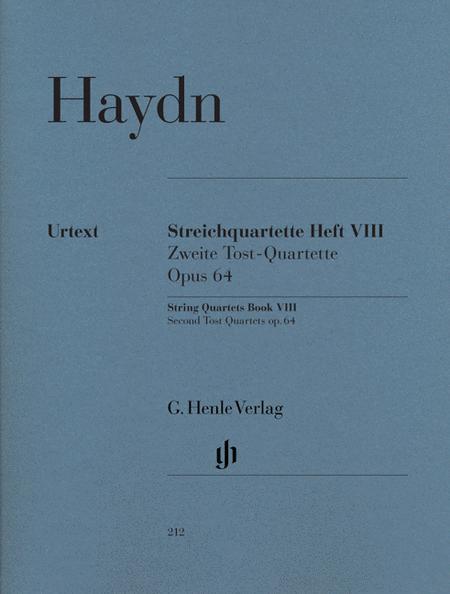 String Quartets Volume 8, Op. 64 (Second Tost Quartets)