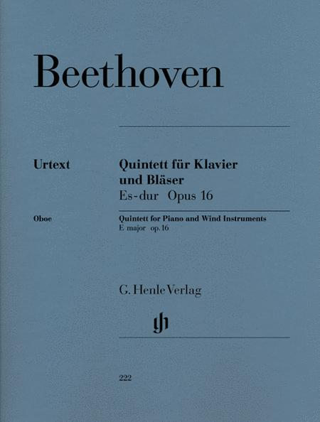 Quintet for Piano and Wind Instruments (Version for Wind Instruments) op. 16