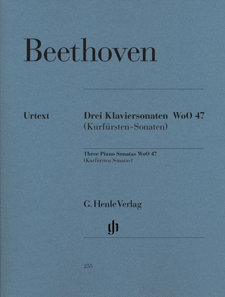 3 Piano Sonatas [Kurfursten] WoO 47