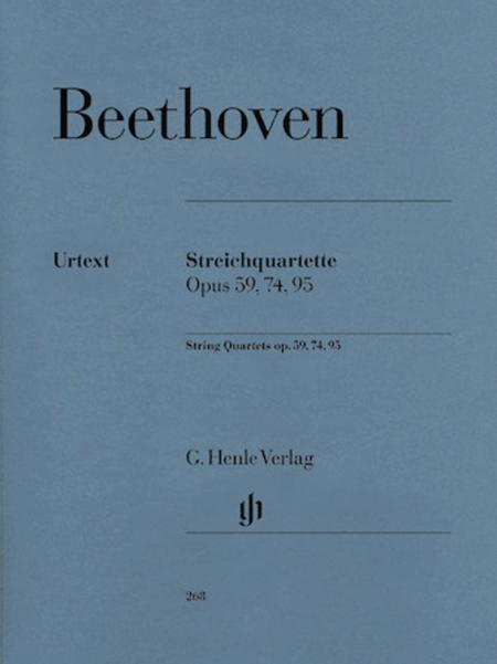 String Quartets op. 59, 74, 95