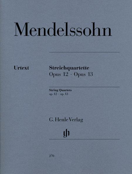 String Quartets op. 12 und 13
