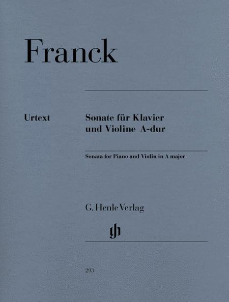 Sonata for Piano and Violin A major
