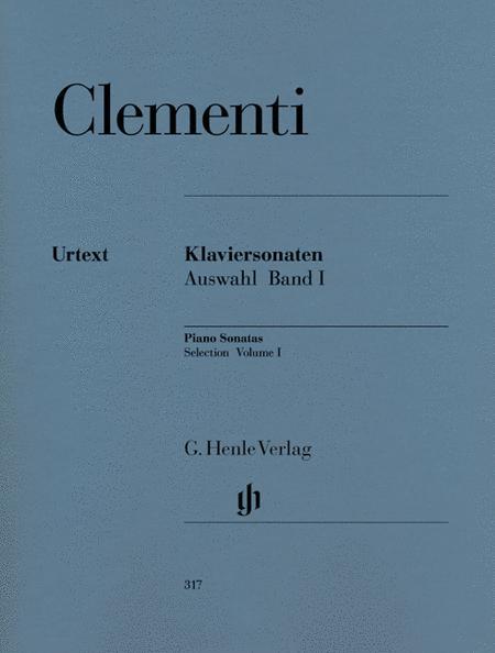 Selected Piano Sonatas - Volume I (1768-1785)