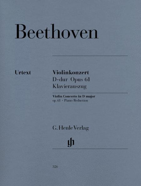 Concerto in D Major Op. 61