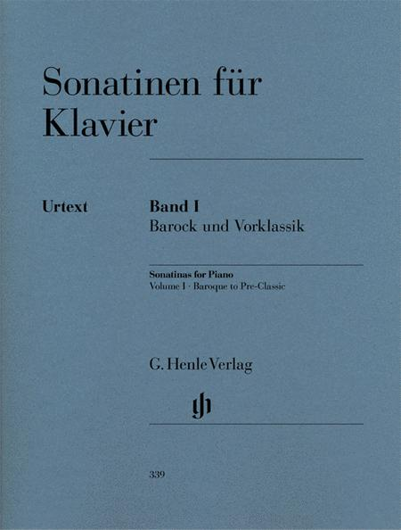 Sonatinas for Piano (Baroque to Pre-Classic) Band 1
