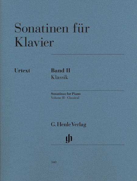 Sonatinas for Piano - Volume II: Classic