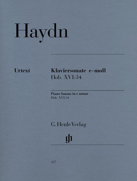 Piano Sonata in E minor Hob.XVI:34